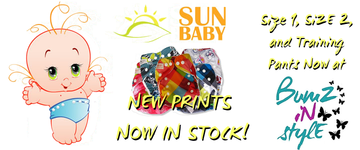 New Sunbaby Diapers!